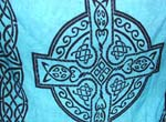 Celtic cross design, bali clothing wholesaler, fashion sarong supplier, celtic symbol distribution, womens fashion apparel, summer wear cover up. online gift supply, wholesale manufacturing agent